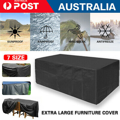 AU28.89 • Buy Waterproof Outdoor Furniture Cover Garden Patio Rain Snow UV Table Protector New