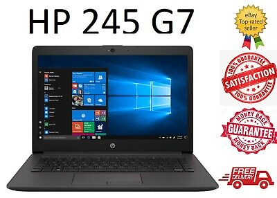 AU599 • Buy Brand New HP 245 G7 Laptop 14  A4-9125 8GB RAM 256GB SSD Win 10 1 Year Warranty
