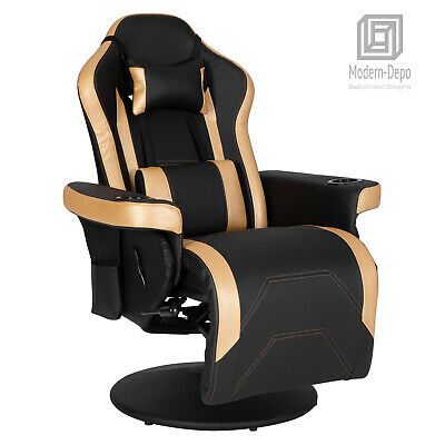 $299.99 • Buy Gaming Chair Recliner High Back Swivel Computer Office Chair With Cupholder