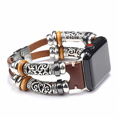 AU8.76 • Buy For Apple Watch Series 5 4 3 2 1 Retro Leather Band Strap IWatch 38/42/40/44mm