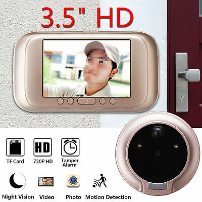 3.5  Digital Peephole Viewer Door Eye Doorbell Video Camera Motion Detector • 19.57£