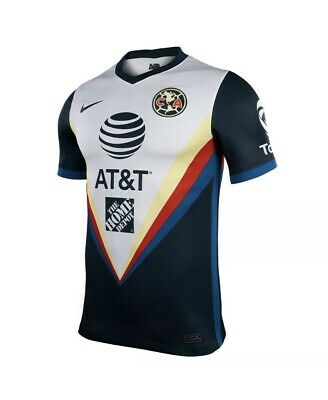 $45 • Buy Nike Club America Official 2020 2021 Away Soccer Jersey