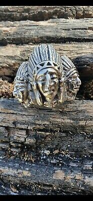 £35 • Buy Silver Indian Head Ring