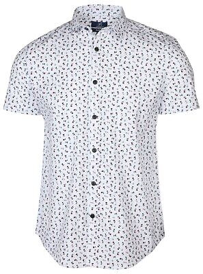 $14.98 • Buy 9 Crowns Men's Printed Woven Slim Fit Button Down Shirt