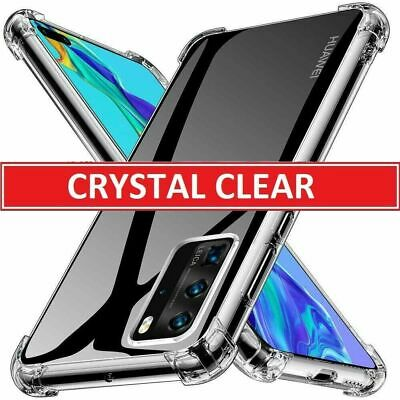 CLEAR Case For Huawei P40 Pro Lite P30 New Edition Shockproof Clear GEL Cover • 3.70£