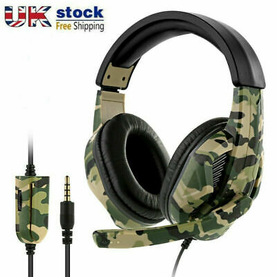 £12.99 • Buy Gaming Headset For PC Xbox One PS4 Nintendo Switch 3.5mm USB Headphones With Mic