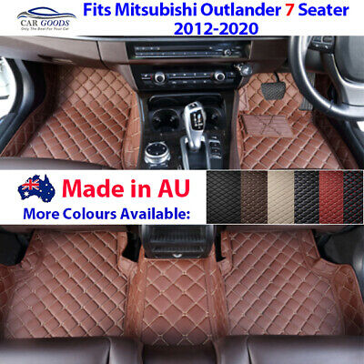 AU209 • Buy AU Made 3D Customised Floor Mats For Mitsubishi Outlander 7 Seater 2012-2020