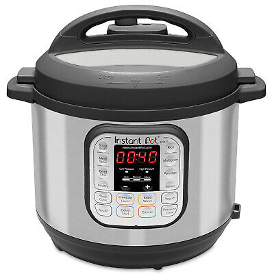 $130.99 • Buy Instant Pot DUO80 8-Quart 7-in-1 Multi-Use Programmable Pressure Cooker