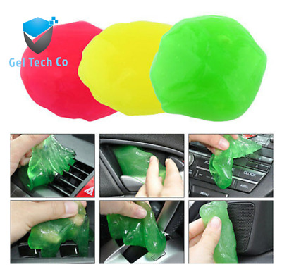 AU6.49 • Buy Car Cleaning Glue Slime Jelly Gel Compound Dust Wiper Cleaner Laptop PC Computer