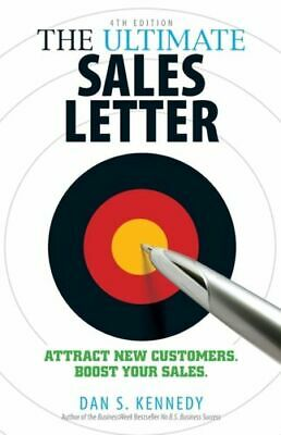 Ultimate Sales Letter, 4th Edition NEW Kennedy Dan S. • 12.75£