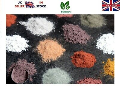 Organic Clay Powder Face Mask White Green Red Moroccan Pink Clay Charcoal Neem • 4.99£