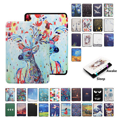 PU Leather Painted Case Cover For Amazon All-new Kindle 2019 Not Paperwhtie UK • 6.59£
