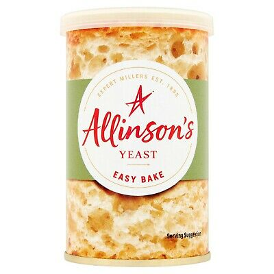 Easy Bake Instant Yeast Allinson Or Fermipan 100g 125g Bakery Bread  • 3.99£