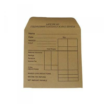 £0.99 • Buy Wage Packet Envelopes Salaries Small Business Office Staff Pay