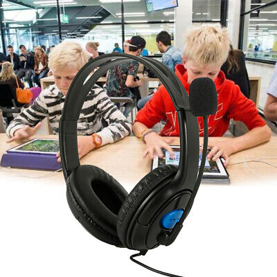 Noise Cancelling Microphone Headset Call Centre Office Headphones W6 • 9.99£