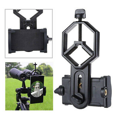 Mobile Phone Telescope Adapter Holder Mount Bracket Spotting Scope UK SELLER • 9.97£