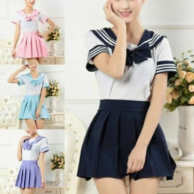 £10.99 • Buy Japanese School Girls Dress Outfit Sailor Uniform Anime Cosplay Costume Suit Hot