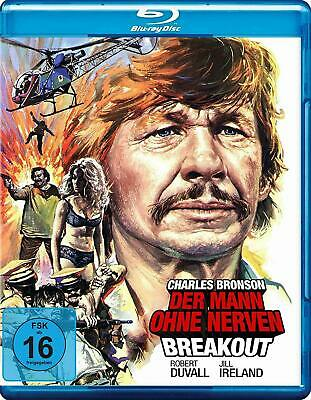 Breakout - Charles Bronson -  Blu Ray - New - Region B • 7.99£