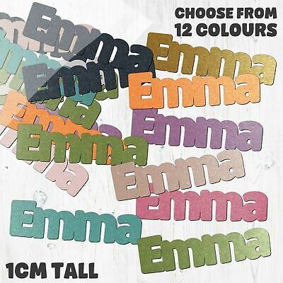 Emma Table Confetti - Choose Your Own Words - 12 Colours - Birthday, Name • 4£