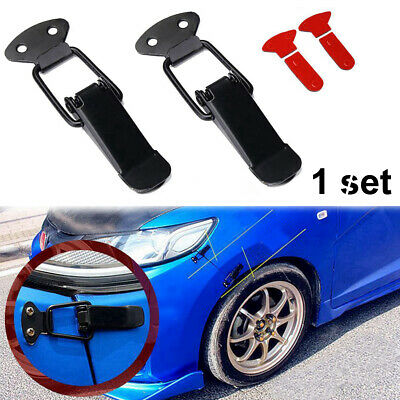$ CDN5.08 • Buy 2X Universal Car Bumper Trunk Fender Hatch Lids Quick Release Fastener Parts P