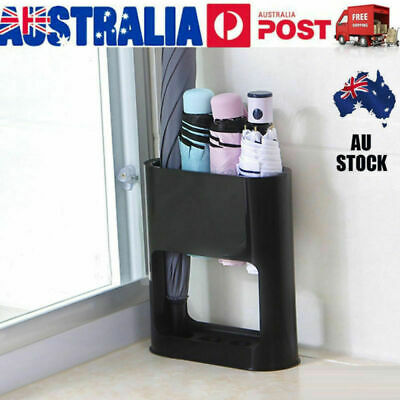 AU17.69 • Buy Umbrella Stand Rack Free Standing Organizer With Drip Tray For Hallway Entryway