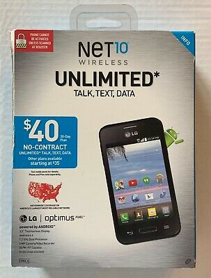 $39.99 • Buy Android LG Optimus Fuel Phone Net10 Wireless New Sealed FREE Fast Priority Ship