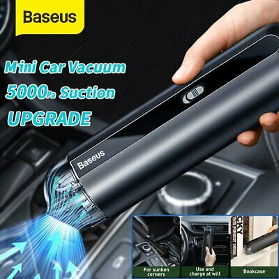 AU62.69 • Buy Baseus 5000Pa Car Vacuum Cleaner Powerful Suction Mini Cordless Portable Duster