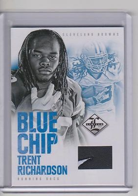 $ CDN12.08 • Buy 2012 Trent Richardson Limited Shoe #33/49 Ebay 1/1 Jersey # Bama Browns Swoosh
