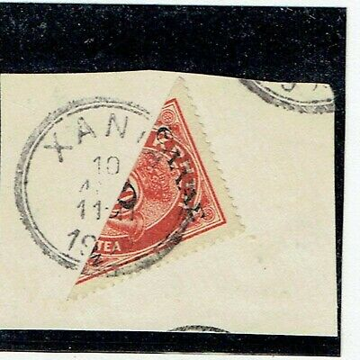 Crete 1909 2 On 20l Bisect On Piece With Xania Postmark As Scan • 15£