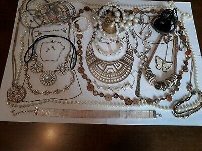 Vintage And Modern Jewellery Joblot Collection Bundle All Wearable 15 • 2.65£