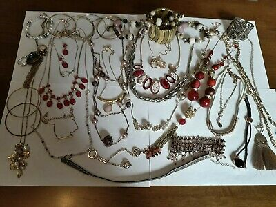 Vintage And Modern Jewellery Joblot Collection Bundle All Wearable 16 • 0.99£