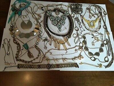 Vintage And Modern Jewellery Joblot Collection Bundle All Wearable 18 • 0.99£