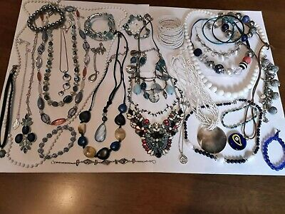 Vintage And Modern Jewellery Joblot Collection Bundle All Wearable 23 • 0.99£