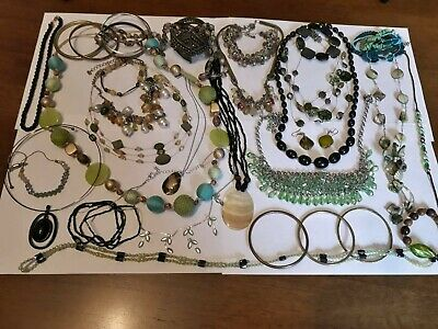 Vintage And Modern Jewellery Joblot Collection Bundle All Wearable 25 • 0.99£