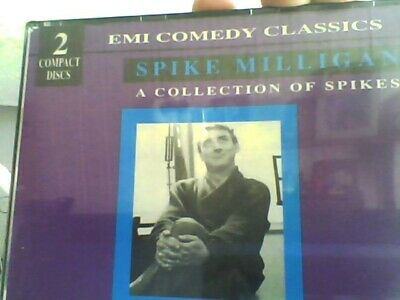 Spike Milligan : Collection Of Spikes  2 CD -free Post-emi Comedy Classics • 9.99£