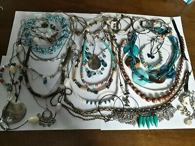 Vintage And Modern Jewellery Joblot Collection Bundle All Wearable 37 • 0.99£