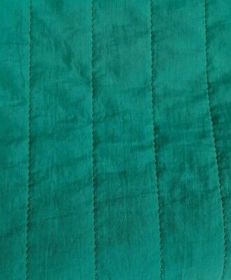 $10.66 • Buy  Green Quilted Lining Fabric-sold By The Metre