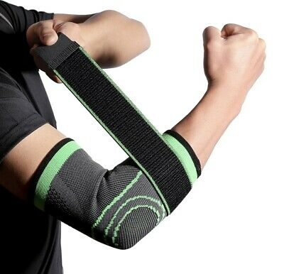 Tennis Elbow Support Strap Brace Band Gym Golfer Pain Arthritis Adjustable • 4.49£
