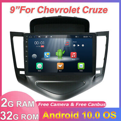 AU257.52 • Buy Car Stereo For Holden Cruze 2009-2016 Android 10.0 GPS Head Unit WIFI DAB+9 Inch