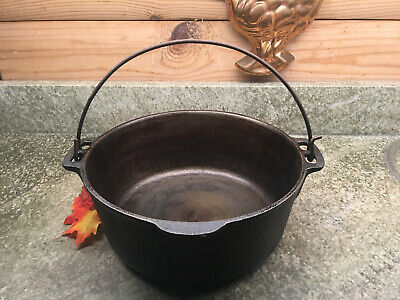 $ CDN60.35 • Buy Vintage Wagner Ware 1891 ~ 5 Qt Cast Iron Dutch Oven Made USA