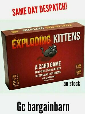 AU46.50 • Buy Exploding Kittens Card Game. FUN FOR EVERYONE!