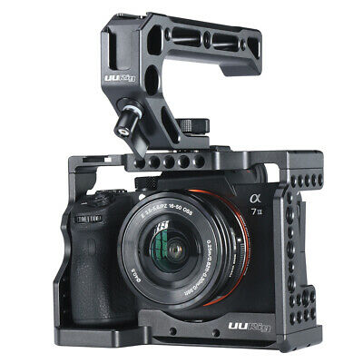 $ CDN108.60 • Buy UURig C-A73 Camera Cage For Sony A7iii A7R3 A7M3I With Top Handle Grip