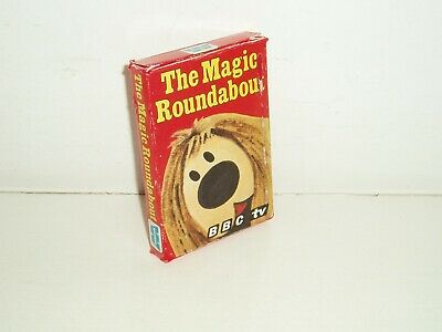 Rare Vintage BBC  The Magic Roundabout  Card Game. By Whitman. 1976. • 19.99£
