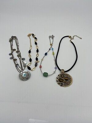 $ CDN20.04 • Buy Lia Sophia Necklace Lot 4 Variety Of Colors