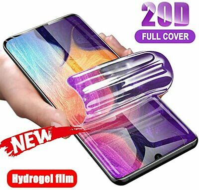 FOR SAMSUNG Galaxy S10 S20+ 8 9 Plus 5G NOTE TPU Hydrogel Screen Protector COVER • 1.59£