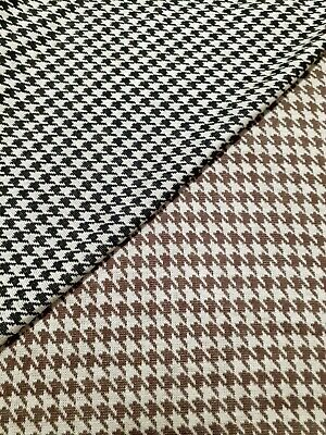 £5.22 • Buy  Knit Jersey Fabric Crowbar Patterned Viscose Polyester Sold By The Metre