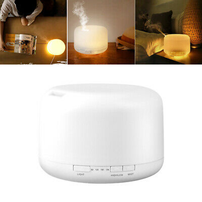 AU23.89 • Buy 500ML Aromatherapy Diffuser LED Essential Oil Ultrasonic Air Humidifier Purifier
