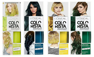 L'Oreal Colorista Washout Semi-Permanent Hair Dye 80ml - Choose Your Shade • 5.95£