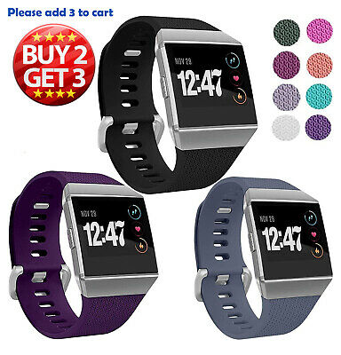 AU6.36 • Buy For Fitbit Ionic Band Replacement Sport Wristbands Compatible Smart Watch
