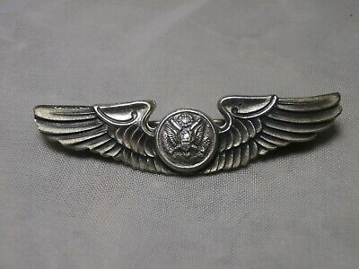 $49.95 • Buy Vintage Sterling Silver Military Wings Pin United States Army Us Air Force Wwii?